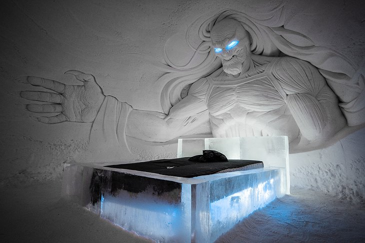 White Walker Ice Bedroom