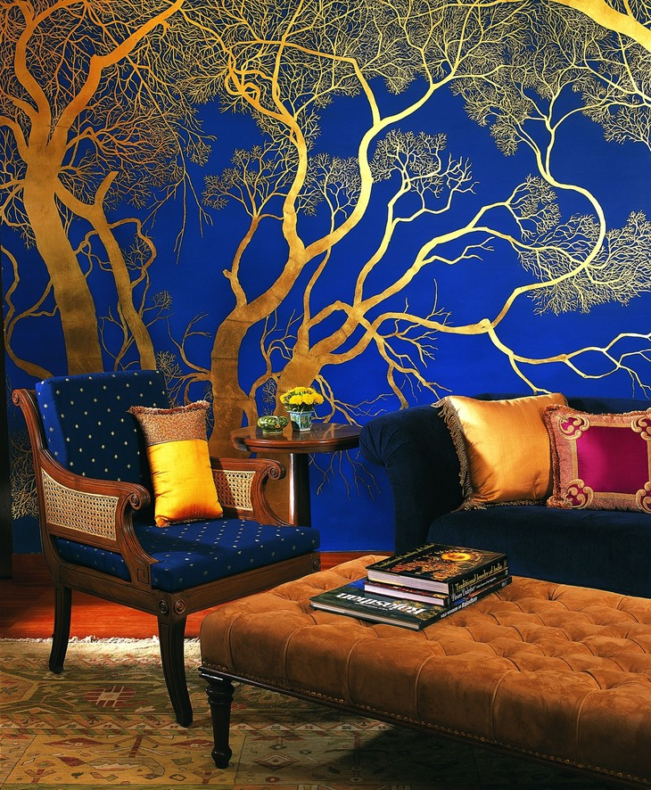The Oberoi Vanyavilas colorful interior
