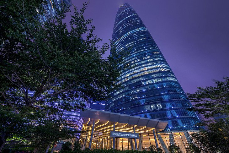 Four Seasons Hotel Guangzhou tower building