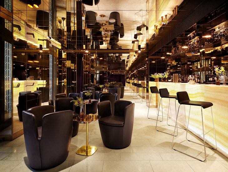 The Gold Bar in Stockholm at Nobis Hotel