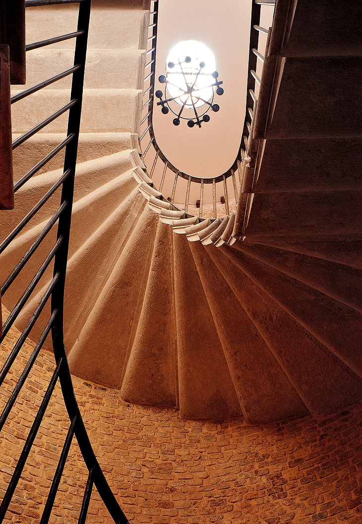 Hotel Metropole Venice circular stairs