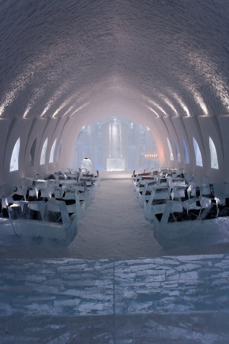 ICEHOTEL Ice Church