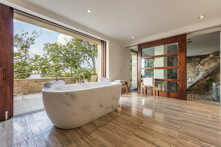 Mustique Island villa bathroom