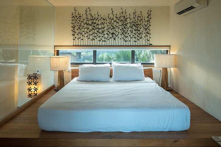 Bangkok Tree House indoor bedroom