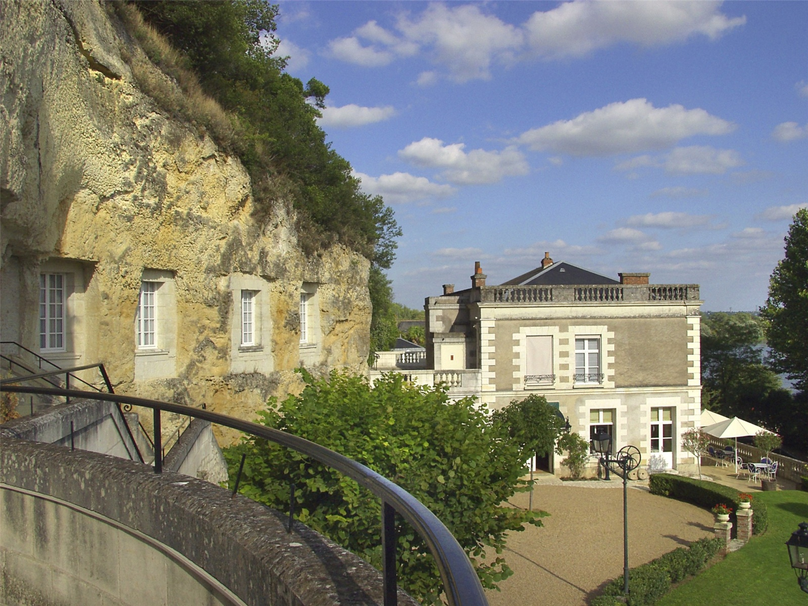 """Les Hautes Roches Luxury cave hotel in """"the garden of France"""""""