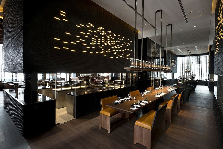The Chedi Andermatt commune table